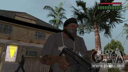 New MP5 (Submachine gun) for GTA San Andreas