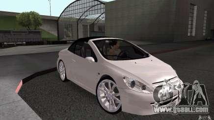 Peugeot 307CC BMS for GTA San Andreas