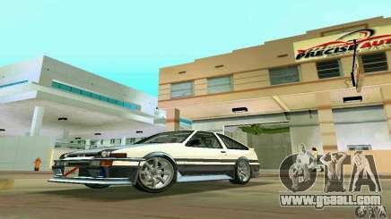 Toyota Trueno AE86 4type for GTA Vice City