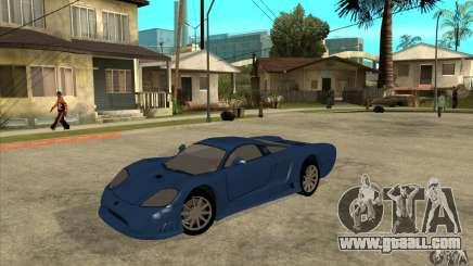 Saleen S7 v1.0 for GTA San Andreas
