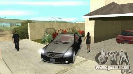 Mercedes-Benz CL500 for GTA San Andreas