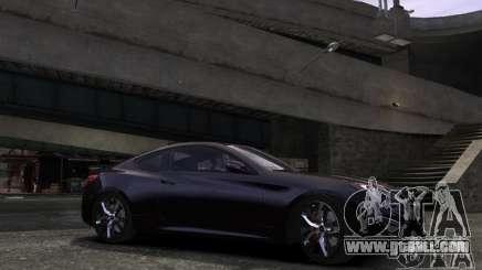 Hyundai Genesis Coupe 2013 for GTA 4