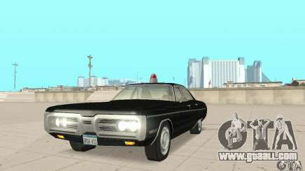 Plymouth Fury III Police for GTA San Andreas