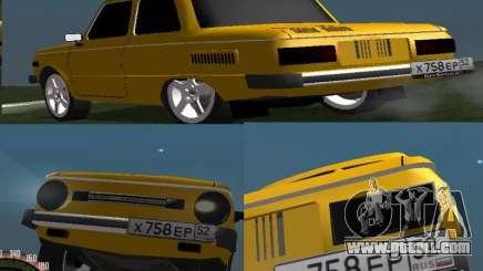 ZAZ 968 for GTA San Andreas