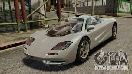 McLaren F1 1995 for GTA 4