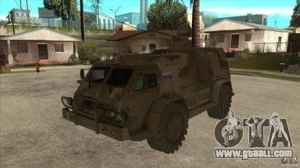 GAZ 39371 Vodnik for GTA San Andreas
