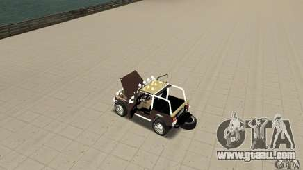Jeep Wrangler 1986(2) for GTA San Andreas