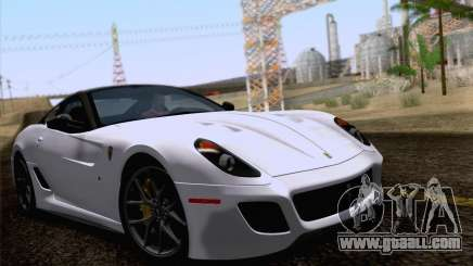 Ferrari 599 GTO 2011 v2.0 for GTA San Andreas