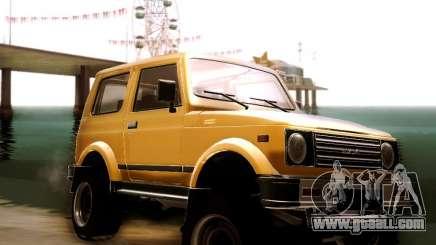 Suzuki Samurai for GTA San Andreas