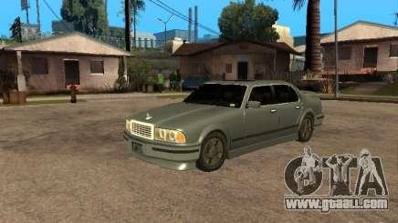 HD Mafia Sentinel for GTA San Andreas