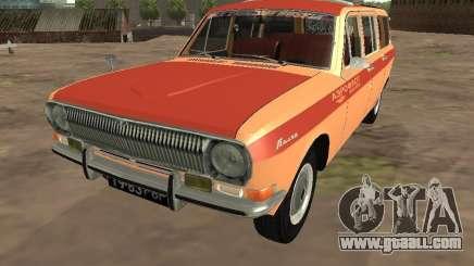 GAZ-24 Volga AEROFLOT 02 for GTA San Andreas