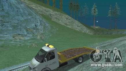 GAZ 3302 2003-2011. Tow Truck for GTA San Andreas