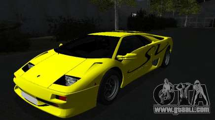 Lamborghini Diablo SV for GTA San Andreas