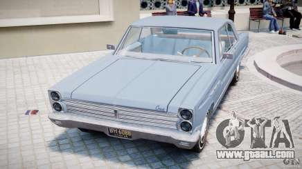 Ford Mercury Comet 1965 for GTA 4