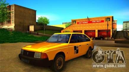 2141 AZLK taxi for GTA San Andreas