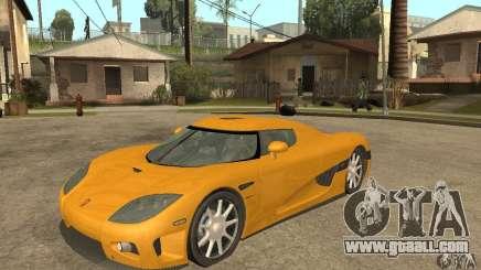 Koenigsegg CCX (v1.0.0) for GTA San Andreas