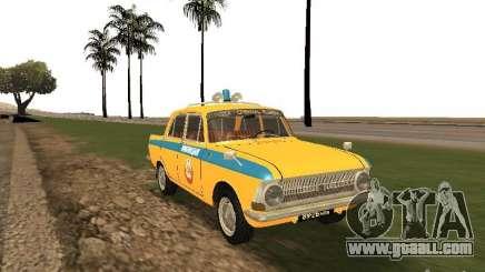 Izh 412 GAI for GTA San Andreas