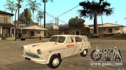 Moskvitch 423 m Ambulance for GTA San Andreas