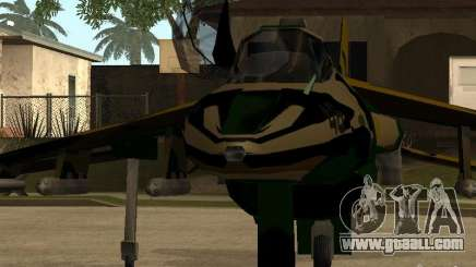 Camouflage for Hydra for GTA San Andreas
