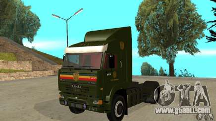KAMAZ 5460 Skin 5 for GTA San Andreas