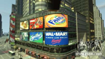 Real Time Square mod for GTA 4