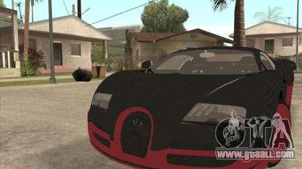 Bugatti Veyron Super Sport for GTA San Andreas
