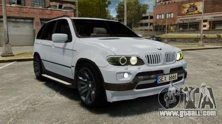 BMW X5 4.8IS BAKU for GTA 4