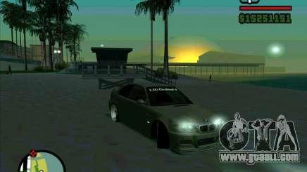 BMW E46 M3 Sport for GTA San Andreas