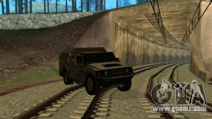 Hummer H2 Army for GTA San Andreas