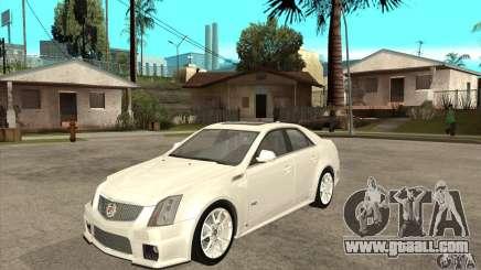 Cadillac CTS-V 2009 v2.0 for GTA San Andreas