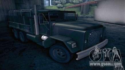 Barracks HD for GTA San Andreas
