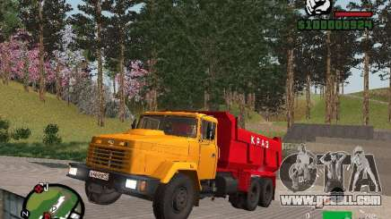KrAZ 65055 Truck for GTA San Andreas