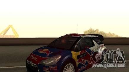 Citroen DS3 WRC for GTA San Andreas