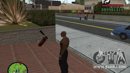 New fire extinguisher for GTA San Andreas