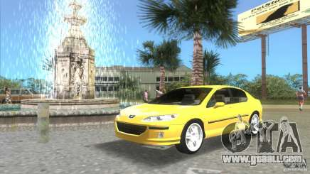 Peugeot 407 for GTA Vice City