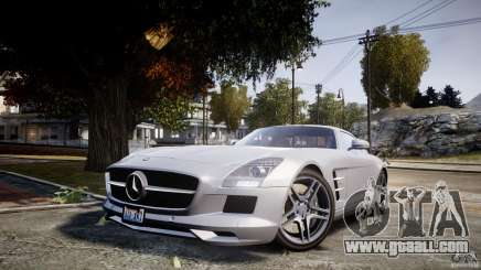 Mercedes-Benz SLS AMG 2010 [EPM] for GTA 4