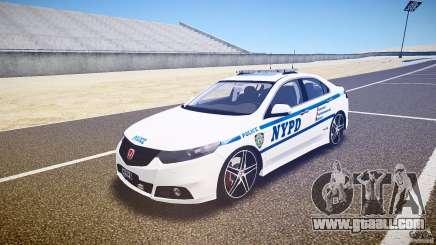Honda Accord Type R NYPD (City Patrol 1090) [ELS] for GTA 4