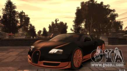 Bugatti Veyron Super Sport 2010 for GTA 4