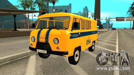 UAZ 2206 Police for GTA San Andreas
