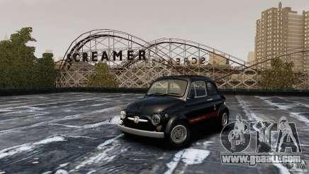 Fiat 500 695 Abarth for GTA 4