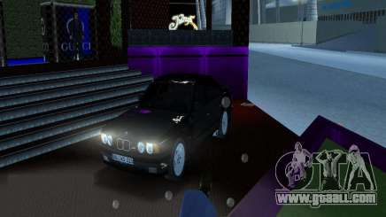 BMW M5 E34 1990 for GTA Vice City