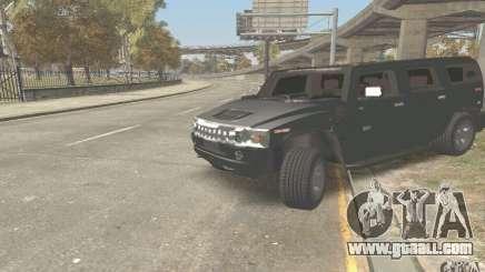 Hummer H2 Stock for GTA San Andreas