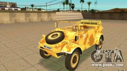 Kuebelwagen v2.0 desert for GTA San Andreas