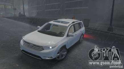 Toyota Highlander 2012 v2.0 for GTA 4