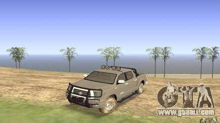 Toyota Tundra 4x4 for GTA San Andreas