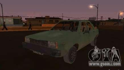 Machine of CoD: MW for GTA San Andreas