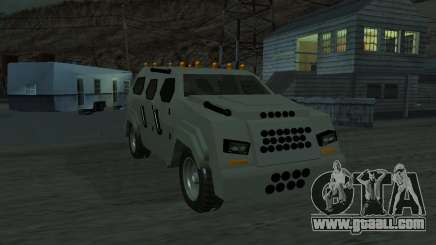 FBI Truck from Fast Five for GTA San Andreas