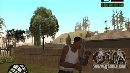 Gladius Knife for GTA San Andreas