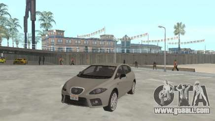 Seat Leon Cupra silver for GTA San Andreas