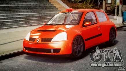 Renault Clio Sport for GTA 4